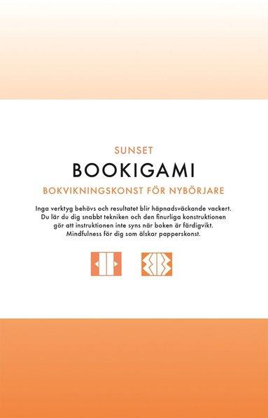 bokomslag Bookigami Sunset : bokvikningskonst för nybörjare
