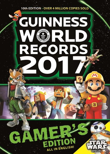 bokomslag Guinness World Records 2017 : gamer's edition