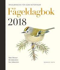 bokomslag Fågeldagbok 2018 : årsalmanacka för egna noteringar