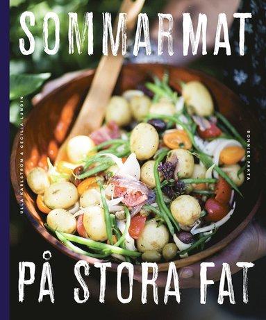 bokomslag Sommarmat på stora fat