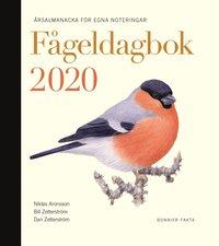 bokomslag Fågeldagbok 2020