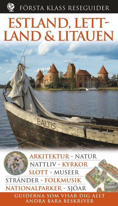 bokomslag Estland, Lettland, Litauen - Första Klass