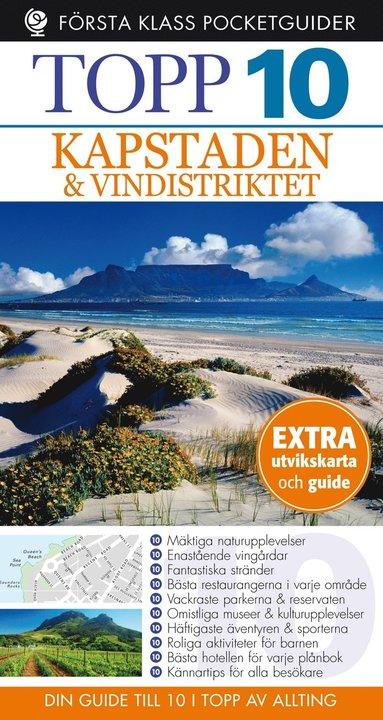 bokomslag Kapstaden Topp 10