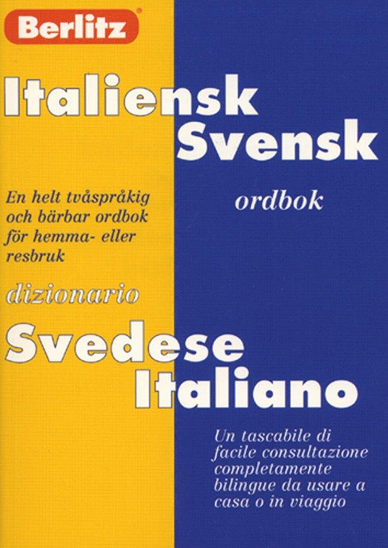 Fickordbok Italiensk-Svensk/Svensk-Italiensk 1