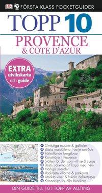 bokomslag Provence & Côte dAzur - Topp 10