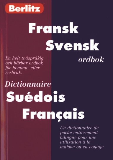 bokomslag Fickordbok Fransk-Svensk/Svensk-Fransk