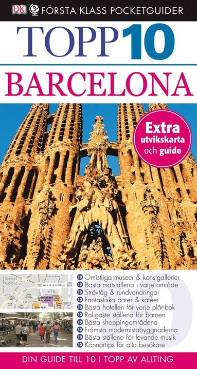bokomslag Barcelona - Topp 10