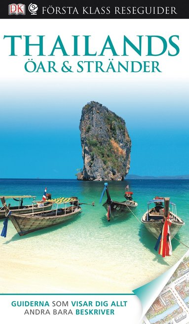 bokomslag Thailands öar & stränder - Första Klass