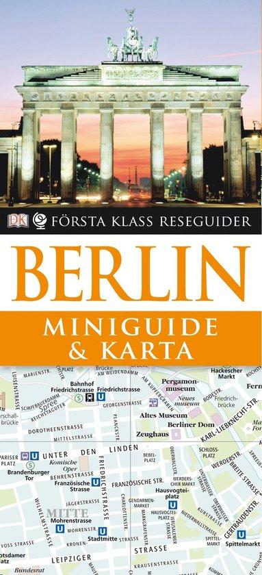 bokomslag Berlin - Miniguide & karta