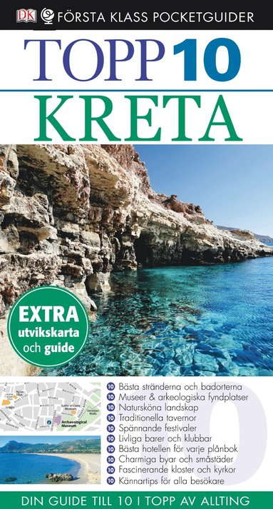 bokomslag Kreta - Topp 10