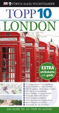 bokomslag London - Topp 10