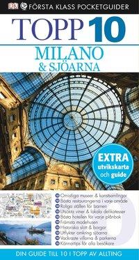 bokomslag Milano & sjöarna - Topp 10