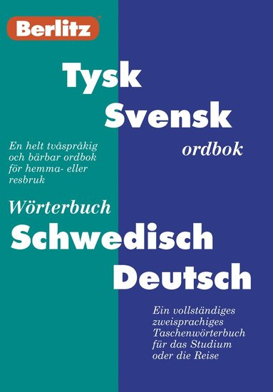 bokomslag Fickordbok Tysk-Svensk