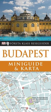 bokomslag Budapest : Miniguide & karta