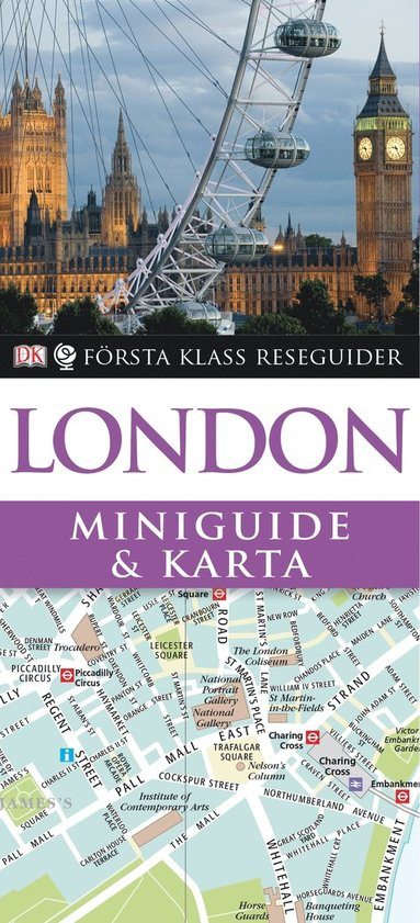 bokomslag London : miniguide & karta