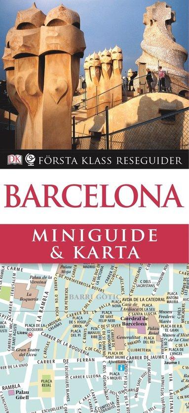 bokomslag Barcelona - Miniguide & Karta
