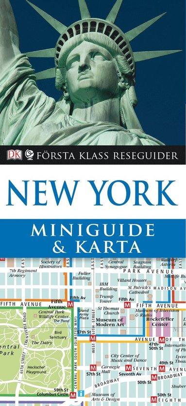 bokomslag New York - miniguide & karta