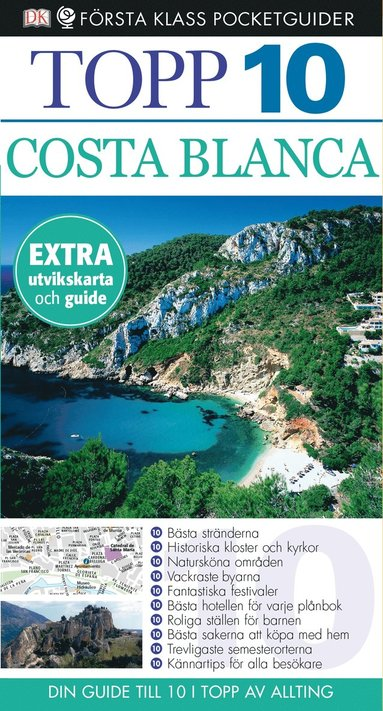 bokomslag Costa Blanca - Topp 10