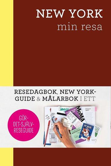 bokomslag New York - min resa : Resedagbok