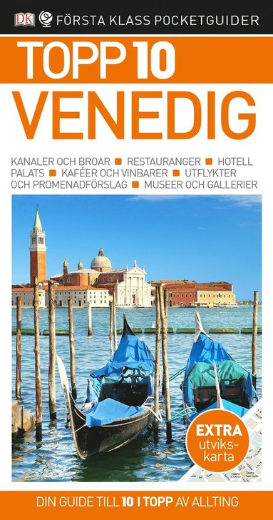 bokomslag Venedig - Topp 10