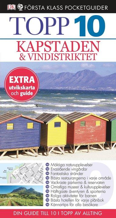 bokomslag Kapstaden - Topp 10
