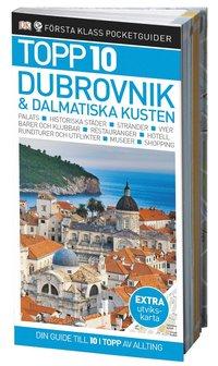 bokomslag Dubrovnik & dalmatiska kusten  - Topp 10