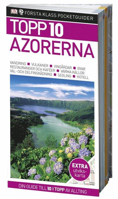 bokomslag Azorerna - Topp 10