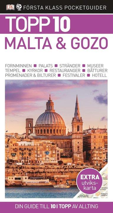 bokomslag Malta & Gozo - Topp 10