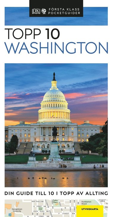 bokomslag Washington - Topp 10