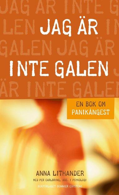 bokomslag Jag är inte galen - En bok om panikångest