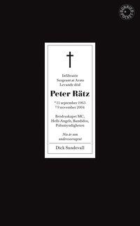 bokomslag Peter Rätz : nio år som undercoveragent