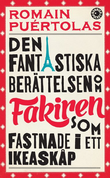 bokomslag Den fantastiska berättelsen om fakiren som fastnade i ett IKEA-skåp