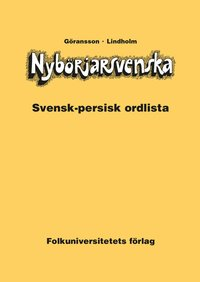 bokomslag Nybörjarsvenska svensk-persisk ordlista