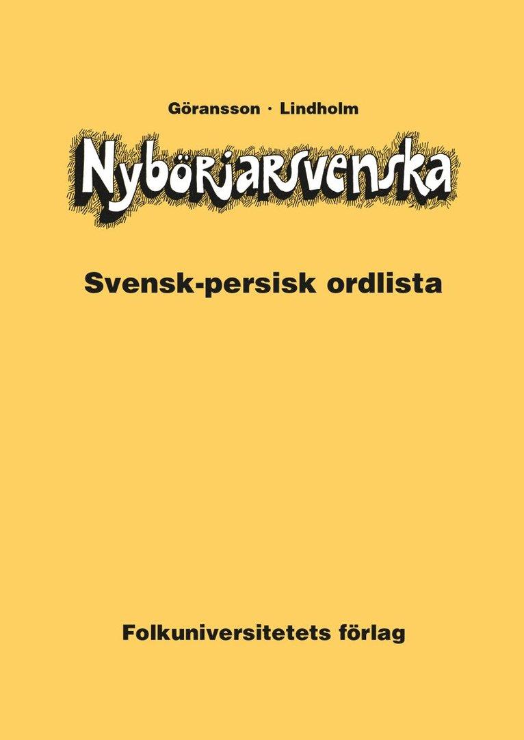 Nybörjarsvenska svensk-persisk ordlista 1