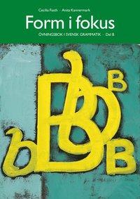bokomslag Form i fokus B