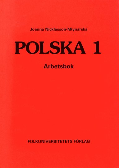 bokomslag Polska 1 arbetsbok