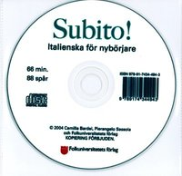 bokomslag Subito! cd audio