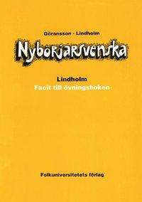 bokomslag Nybörjarsvenska facit