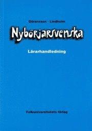 bokomslag Nybörjarsvenska lärarhandledning