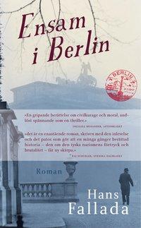 bokomslag Ensam i Berlin