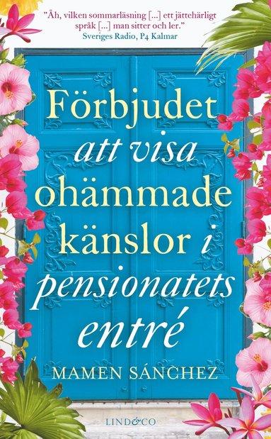 bokomslag Förbjudet att visa ohämmade känslor i pensionatets entré