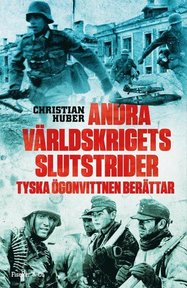 bokomslag Andra världskrigets slutstrider : tyska ögonvittnen berättar