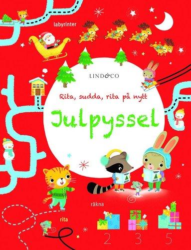 bokomslag Julpyssel. Rita, sudda, rita på nytt