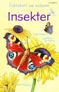 bokomslag Faktakort om naturen : Insekter