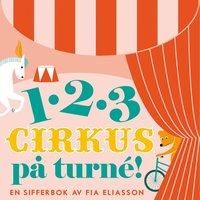 bokomslag 123 : cirkus på turné
