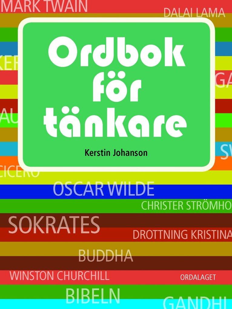 Ordbok för tänkare 1