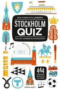 bokomslag Stockholmquiz : hur väl känner du Stockholm