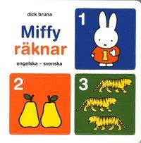 bokomslag Miffy räknar : engelska-svenska