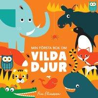 bokomslag Min första bok om vilda djur