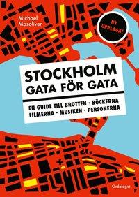 bokomslag Stockholm gata för gata